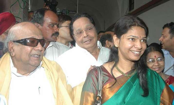 karunanidhi faults centre for kanimozhi s arrest