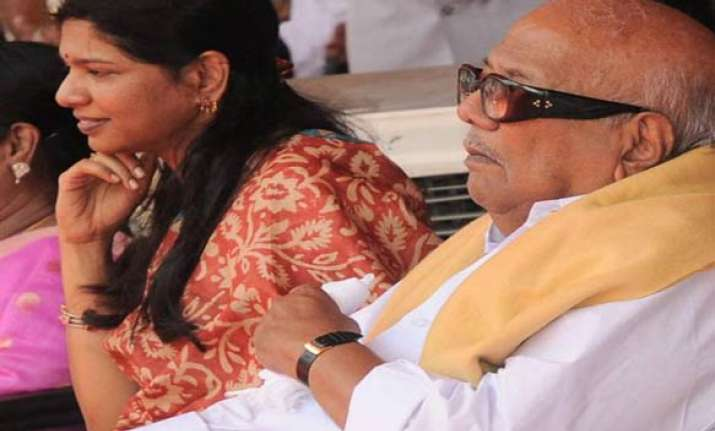 karunanidhi in delhi to meet kanimozhi in jail