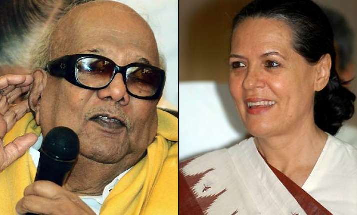 karunanidhi to call on sonia gandhi