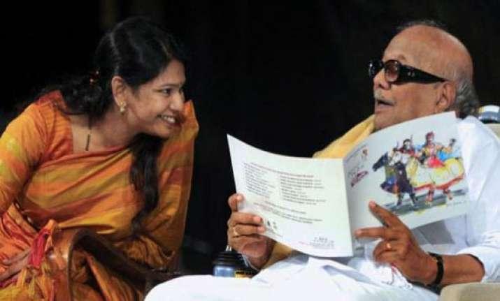 karunanidhi to visit delhi to meet jailed kanimozhi