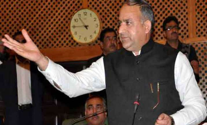 kashmir health minister shabir ahmed khan resigns after