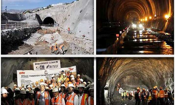 kashmir rail tunnel a marvel of human endeavour and