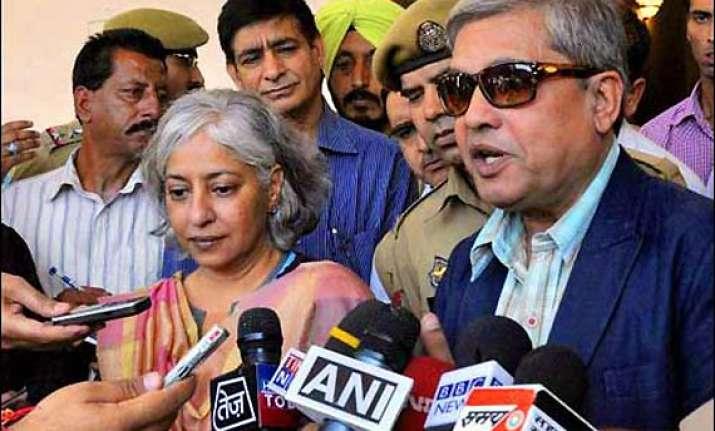 kashmir interlocutors submit report to chidambaram