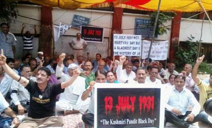 kashmiri pandits observe black day