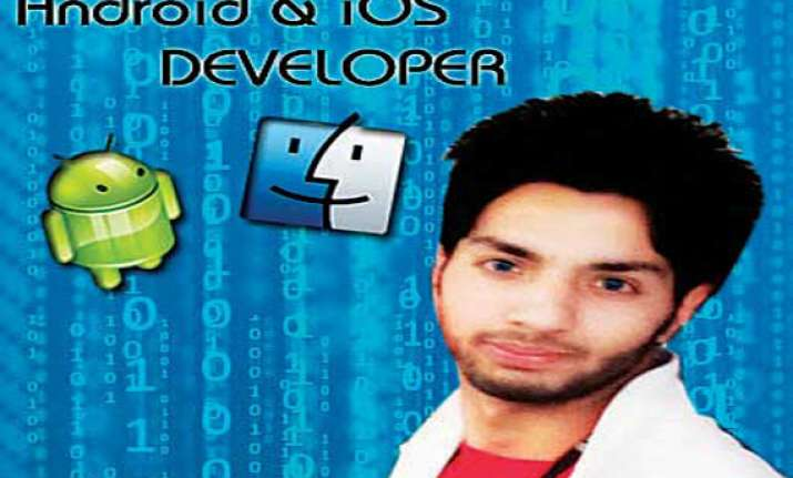 kashmiri teenager develops android game using physics