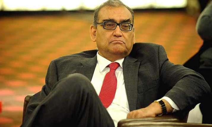 katju slammed by legal luminaries for attack on ex cjis