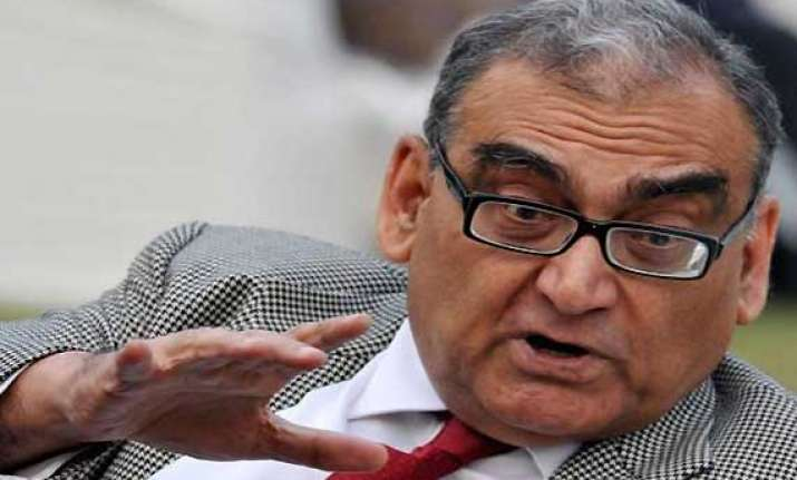 katju flays news channels for excessive coverage of rajesh