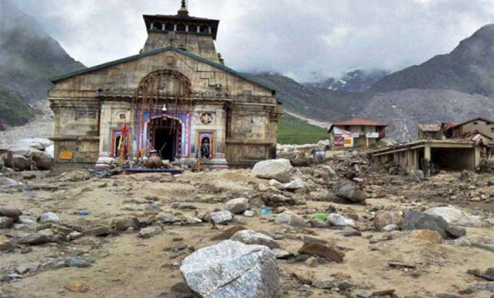 kedarnath reconstruction work to start soon bahuguna