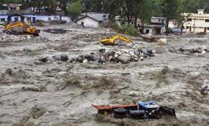 kedarnath shrine submerged in mud and slush widespread