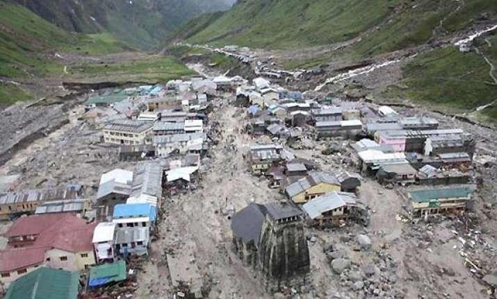 kedarnath shrine stands alone amidst death and destruction
