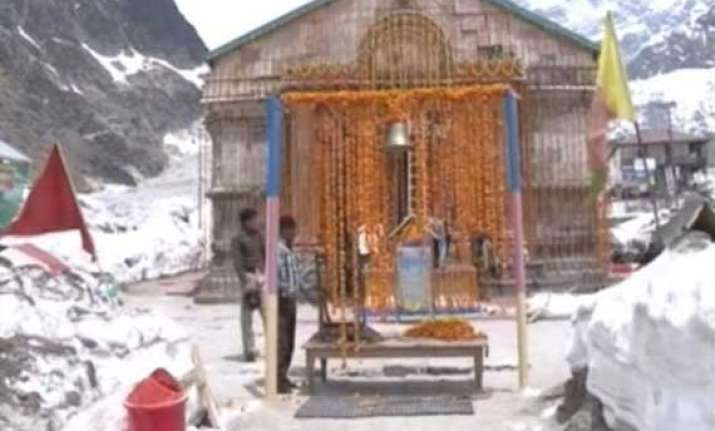 kedarnath shrine reopens for pilgrims