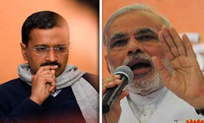 kejriwal loses lead on google search trends modi surges