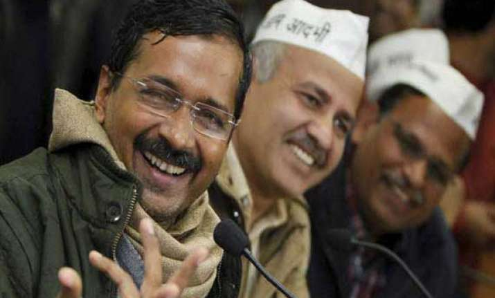 kejriwal remains people s hero after resignation