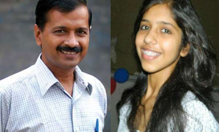 kejriwal s daughter scores 96 per cent in class xii exam