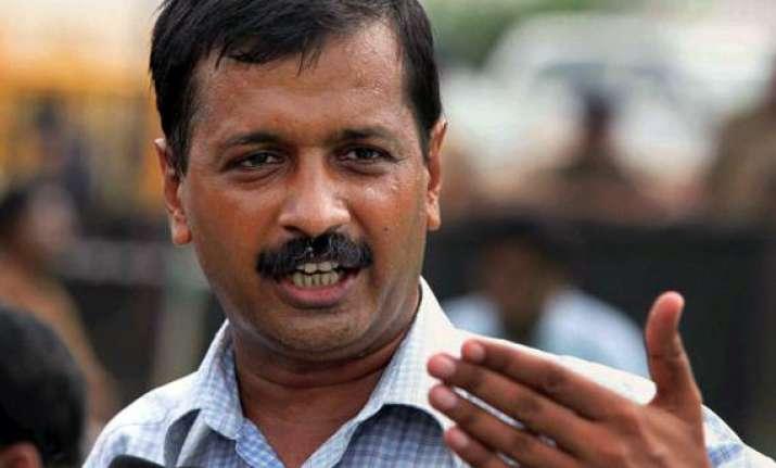 kejriwal attacks union ministers