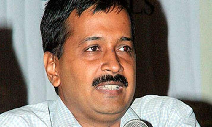kejriwal defends its anti congress campaign