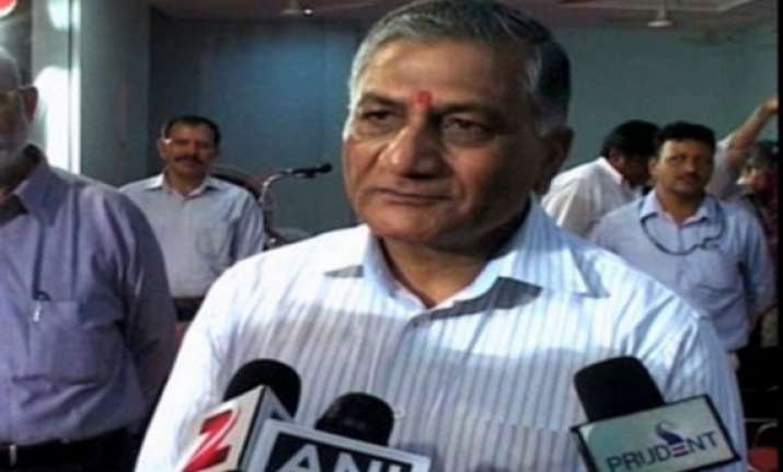 kejriwal charges should be probed ex army chief vk singh