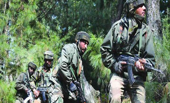 keran sector operation is localised says iaf chief