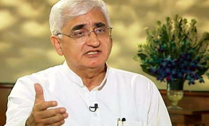 khurshid favours reaching out to opposition allies on lokpal