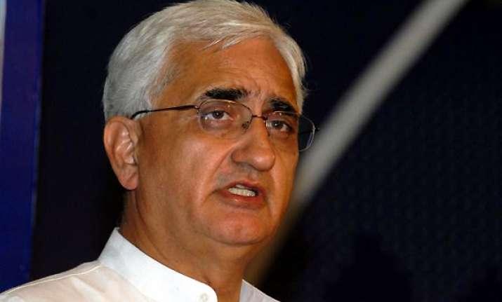 khurshid slams bjp on lokpal bill