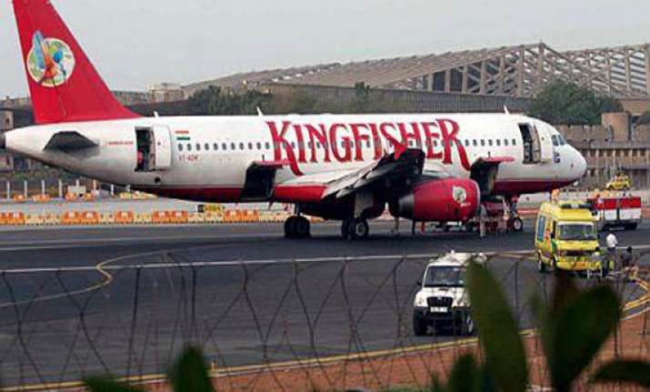 kingfisher aircraft impounded over non payment of service