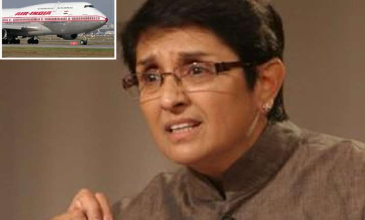 kiran bedi defends buying air tickets at discount says