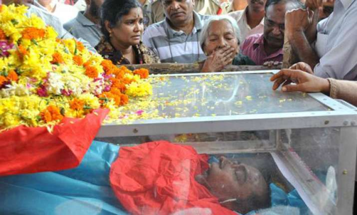 kishenji cremated cpi maoist calls bharat bandh on dec 4 5