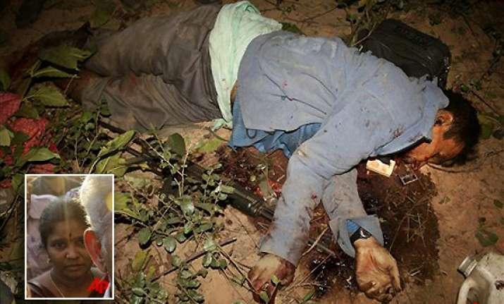 kishenji s body identified by niece says he was tortured