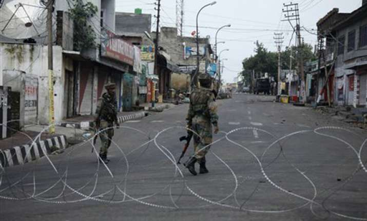 kishtwar clashes curfew continues in eight jammu districts