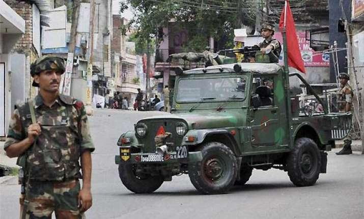 kishtwar clashes curfew on life in jammu returning to normal