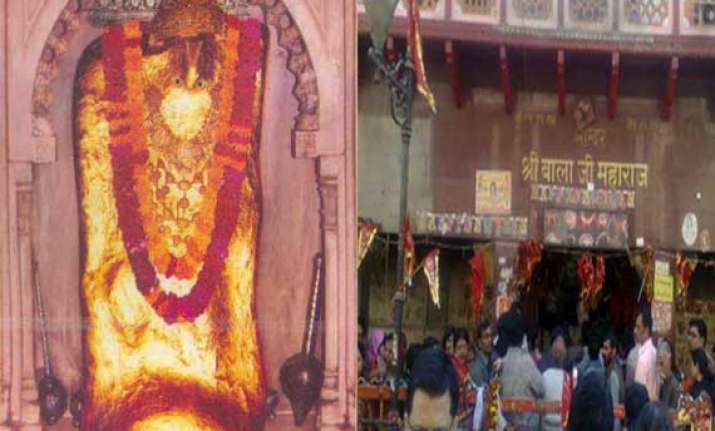 know about balaji temple in rajasthan a place to exorcise