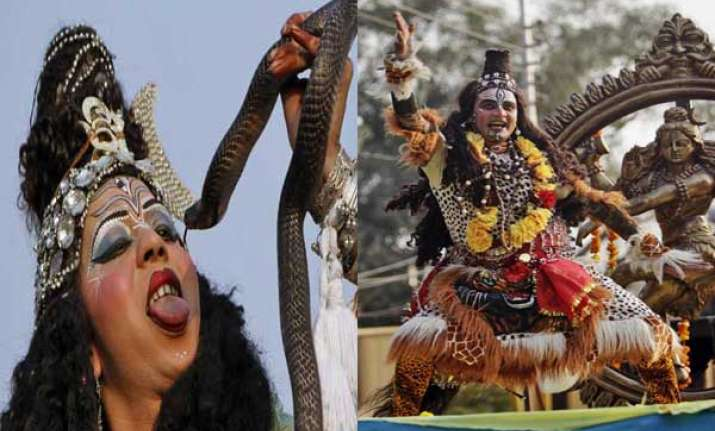 know how india celebrated mahashivratri watch pics