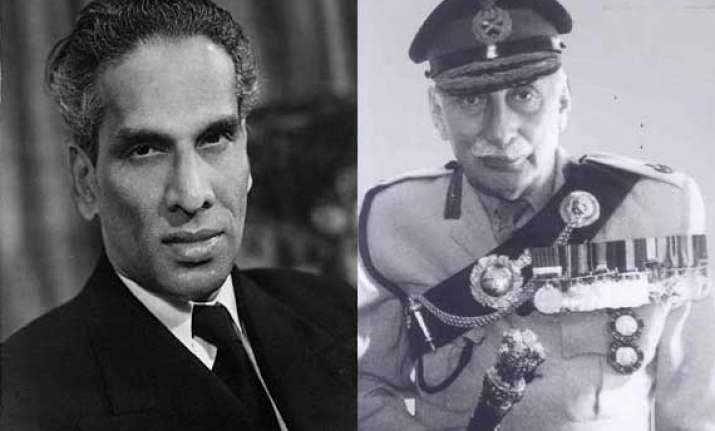 know why krishna menon wanted to sack manekshaw from army