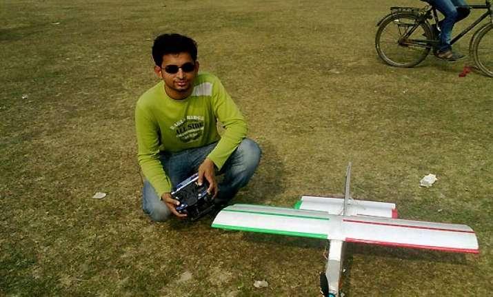 kolkata student builds a drone