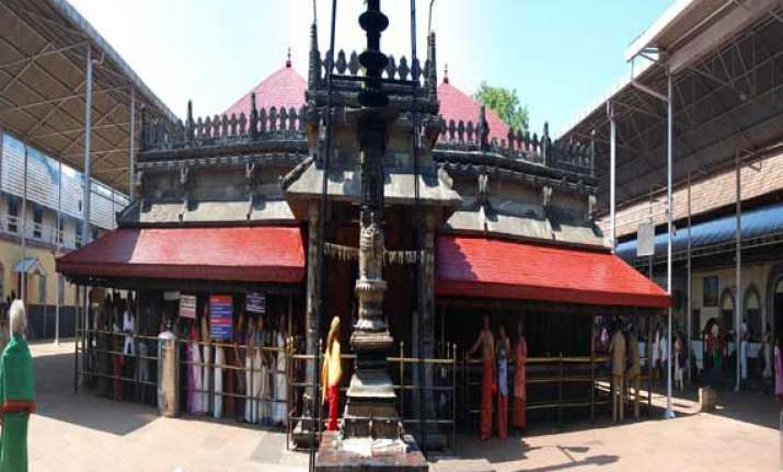 kollur s mookambika the only temple dedicated to goddess