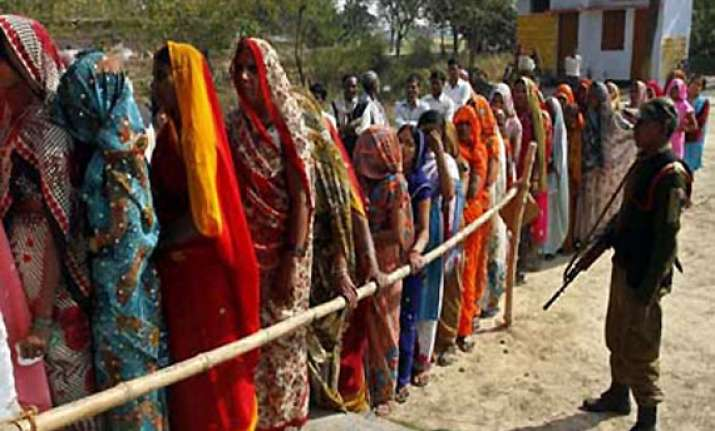 ls polls 2014 over 60 per cent polling in up