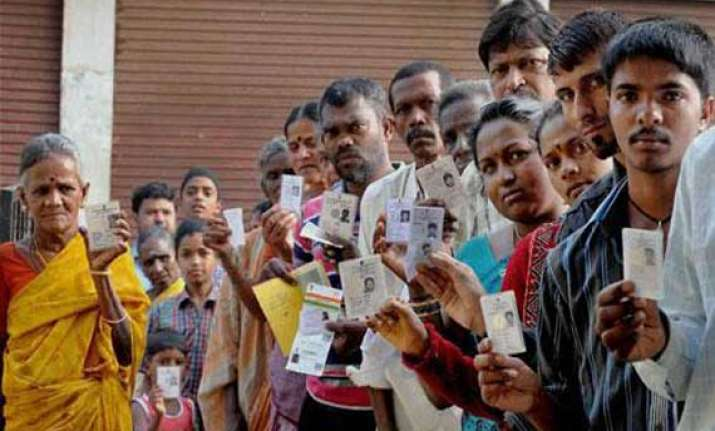70 per cent to 47 per cent polling till 3 pm in eastern