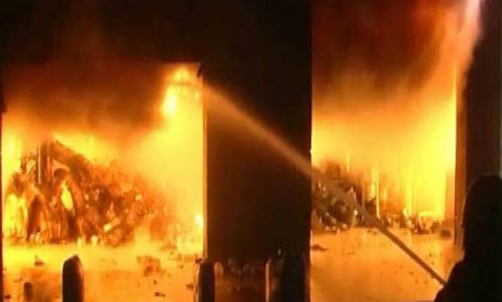 lakhs worth goods gutted in gurgaon s perfetti factory