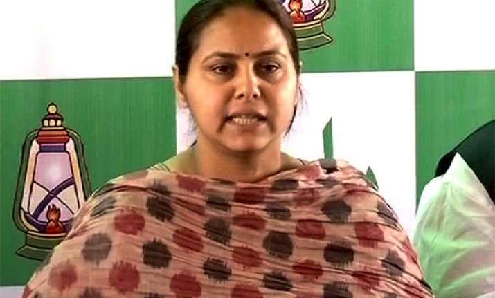lalu s daughter misa bharati has rs 4.72 cr assets