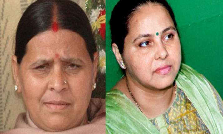 lalu s wife and daughter lose election