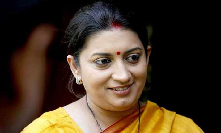 law and order situation not good in up smriti irani