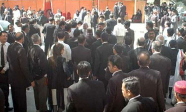 lawyers in odisha on strike after police thrashes advocate