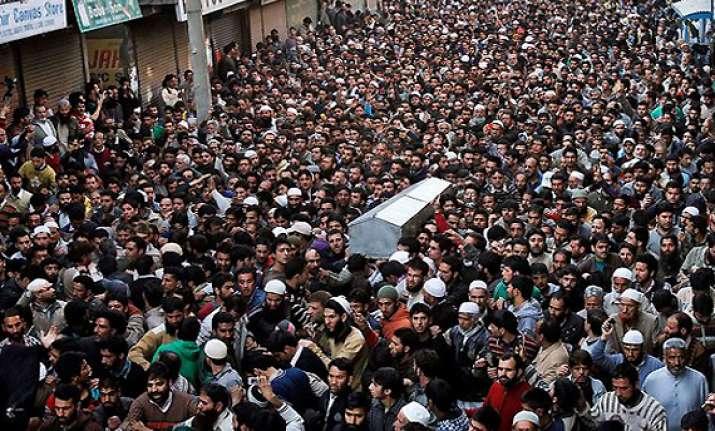 let says militants not army killed moulvi showkat