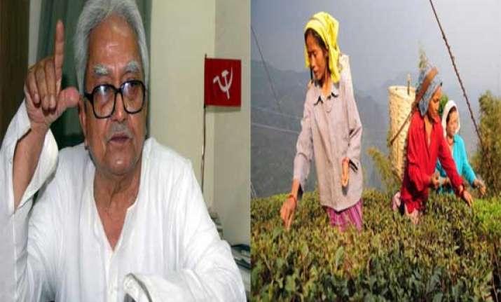 left to seek centre s help in reopening bengal tea gardens