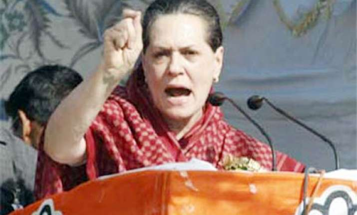 left front made bengal bankrupt says sonia