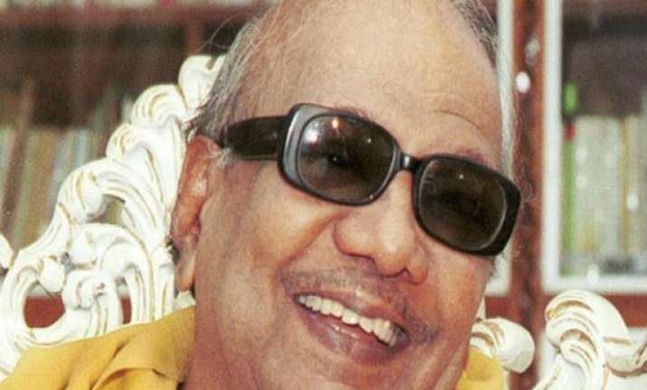 let karunanidhi prove his innocence in the trial eci