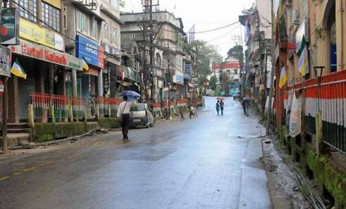 life paralysed in darjeeling 30 more arrested in crackdown