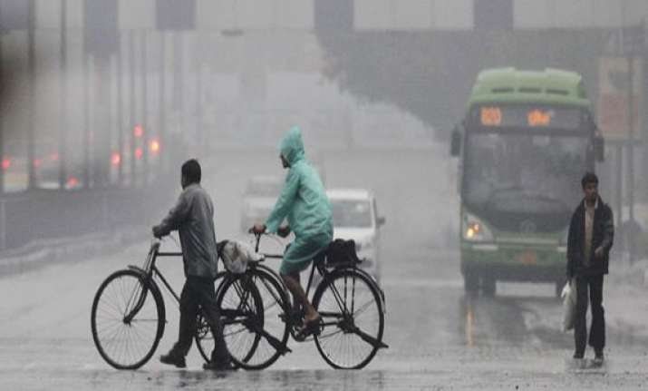 light rains in north india bring little relief from heat