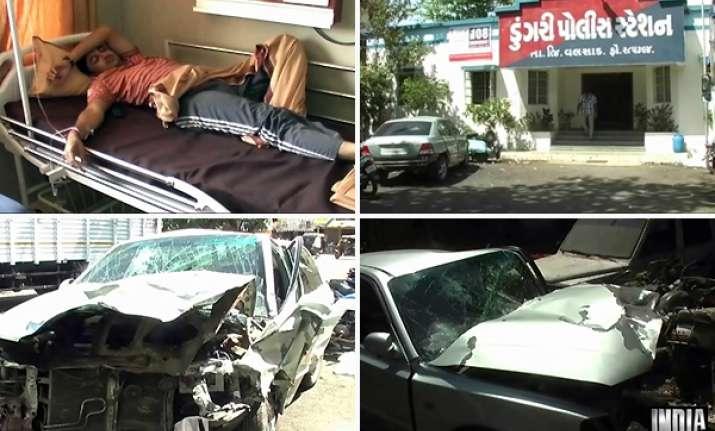 liquor mafia tries to crush police sub inspector under