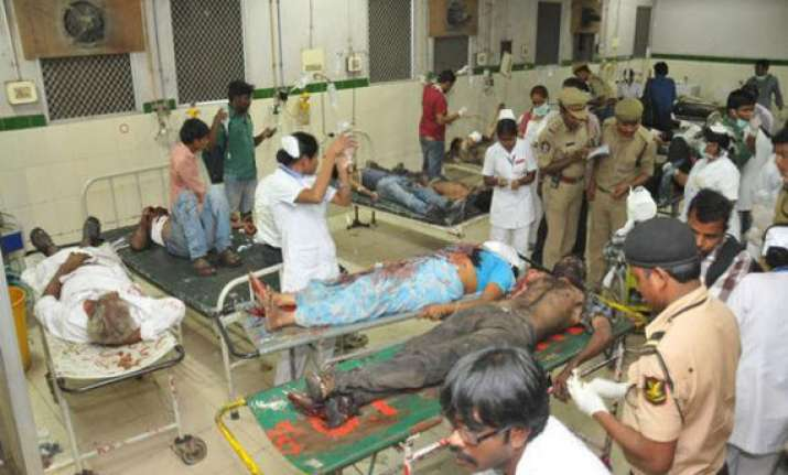 list of names of all 16 victims killed in hyderabad blasts